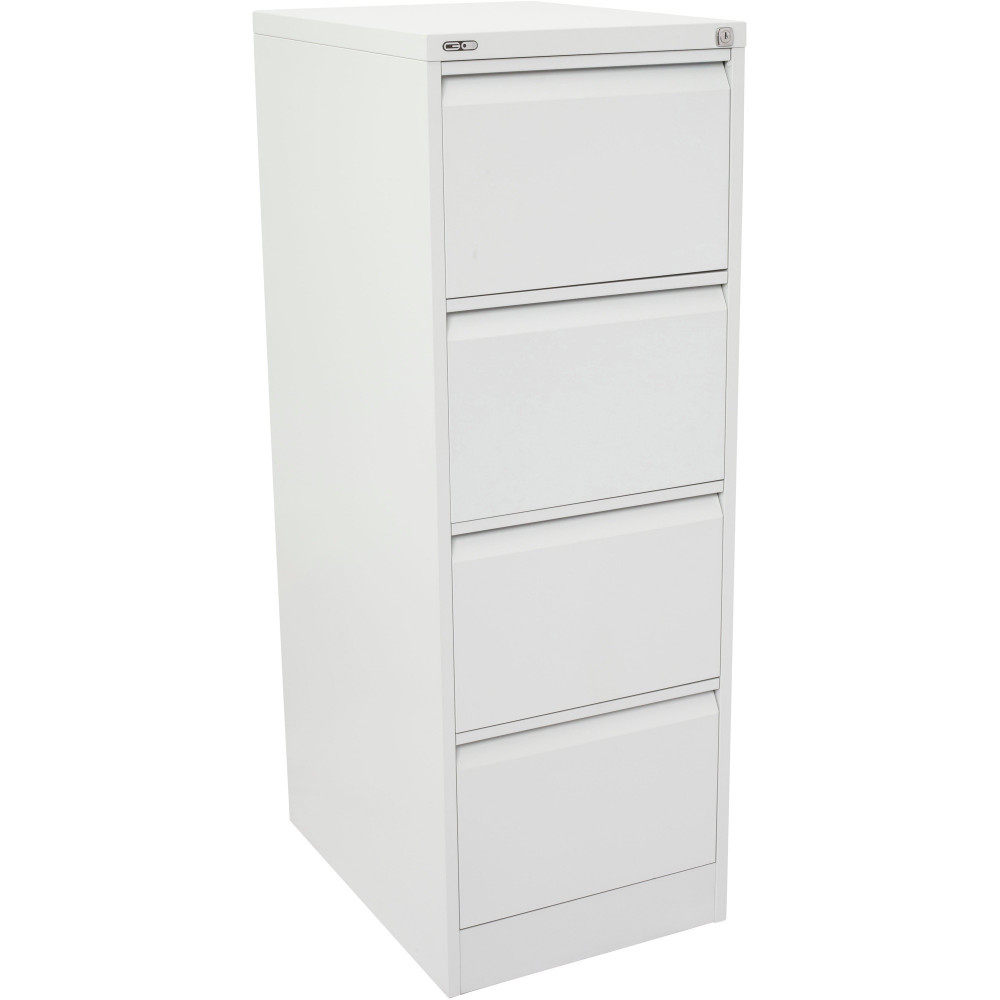 4 DRAWER FILING CABINET (ASSEMBLED) 460W X 620D X 1321H White China