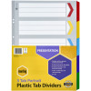 MARBIG COLOURED DIVIDERS A3 15Tab Board Portrait Asst