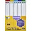 MARBIG COLOURED DIVIDERS A3 1-5 Tab Board LScape Asst