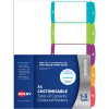 DIVIDER- AVERY L7411-5 READYINDEX 1 -5