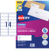 AVERY L7163 MAILING LABELS Laser 14/Sht 99.1x38.1mm