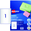 LABEL- LASER AVERY L7567 CLEAR 959065 PKT