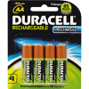 DURACELL RECHARGABLE BATTERY AA Precharged Card 4