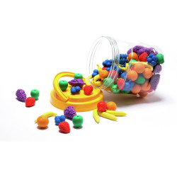 LEARNING CAN BE FUN Fruit Counters Jar 108