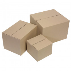 PACKING CARTON 230X230X180 SIZE 1 PK 10 MAIL ROOM PCK10