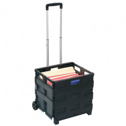 STORAGE TROLLEY COLLAPSIBLE 25KG CAPACITY